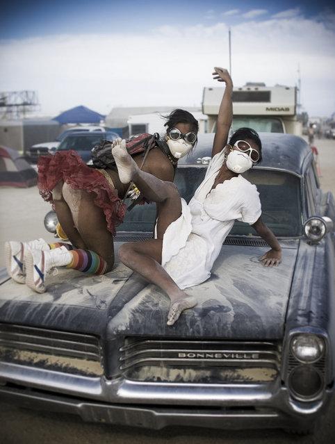 """Reka vs Kim"". (Photo and caption by Ian Brewer)"
