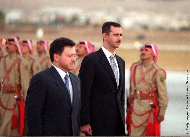 Bashar al-Assad, Jordanian King Abdullah ll