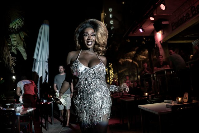 Giancarlo Ceraudo, Italy. Professional; Candid. A showgirl performs on Ocean Drive, Miami Beach. (Photo by Giancarlo Ceraudo/Sony World Photography Awards)