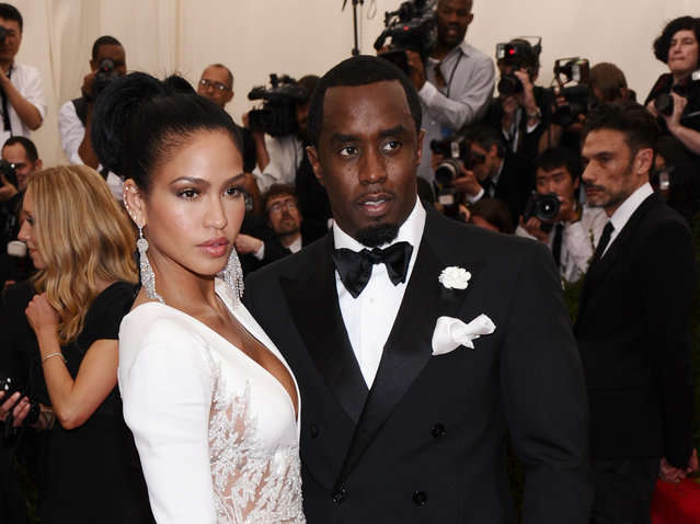 "Cassie, left, and Sean ""Diddy"" Combs arrive at The Metropolitan Museum of Art's Costume Institute benefit gala celebrating ""China: Through the Looking Glass"" on Monday, May 4, 2015, in New York. (Photo by Charles Sykes/Invision/AP Photo)"