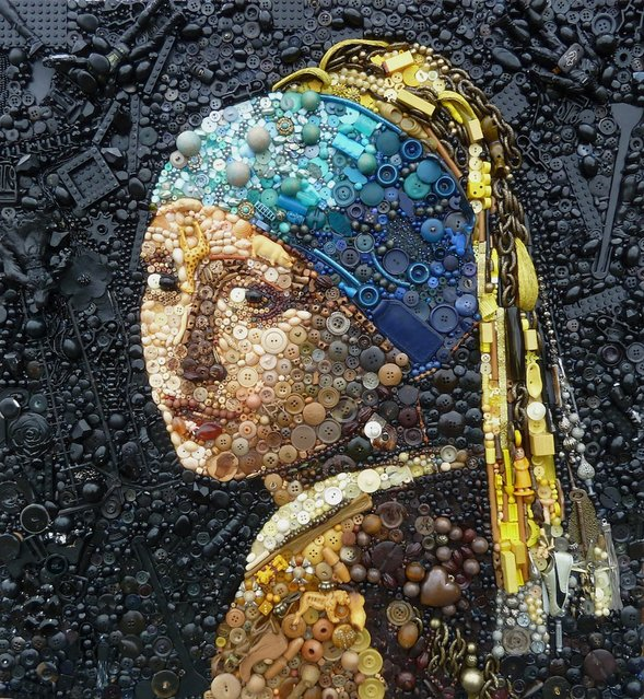 The Girl With The Pearly Earring – Vermeer.  (Photo by Jane Perkins/Caters News)
