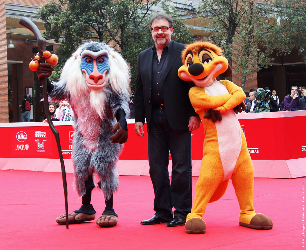 The Lion King 3D Premiere – 6th International Rome Film Festival