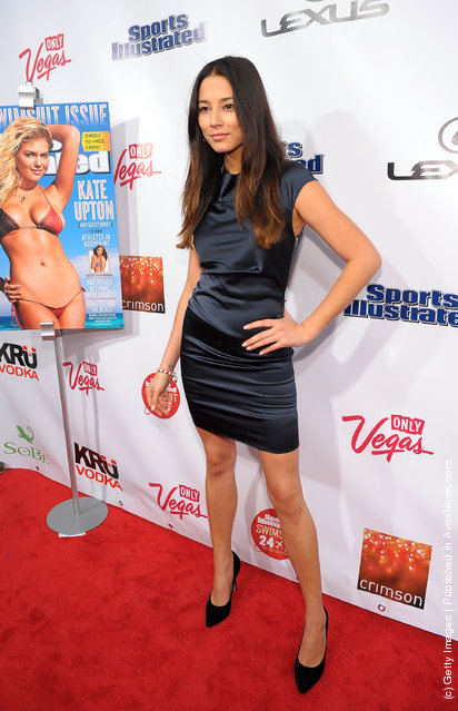 Sports Illustrated Swimsuit model Jessica Gomes attends SI Swimsuit Launch Party