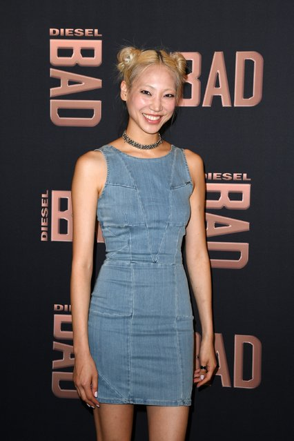 Model Soo Joo Park attends the Diesel Party for the Launch of New Fragance For Men on June 23, 2016 in Paris, France. (Photo by Pascal Le Segretain/Getty Images)