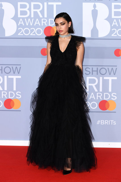 Charli XCX attends The BRIT Awards 2020 at The O2 Arena on February 18, 2020 in London, England. (Photo by Gareth Cattermole/Getty Images)
