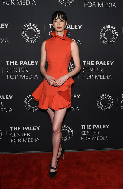 Actress Krysten Ritter attends The Paley Center For Media Presents: An Evening With Jessica Jones at The Paley Center for Media on March 8, 2018 in New York City. (Photo by Ilya S. Savenok/Getty Images)
