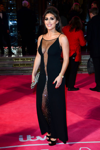 Sadie Stuart attends the ITV Gala at London Palladium on November 24, 2016 in London, England. (Photo by Splash News and Pictures)