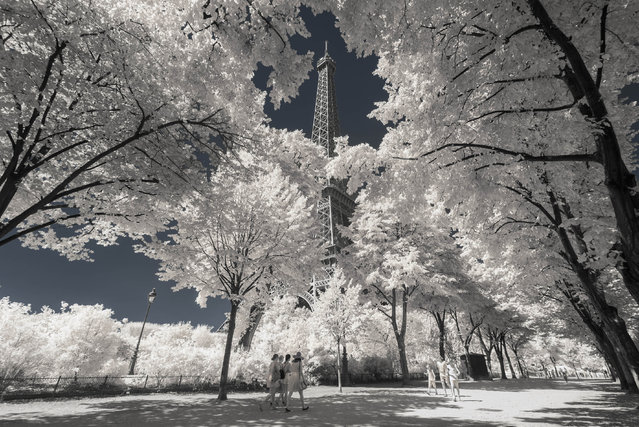 The 30-year-old Paris-based photographer discovered infrared photography in 2010 while he was in engineering school. (Photo by Pierre-Louis Ferrer/Caters News Agency)
