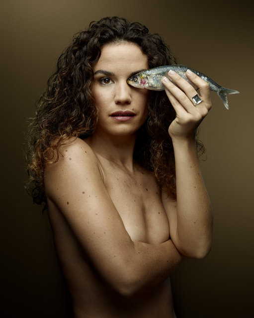 """""""Fish Love"""" Project by Photographer Denis Rouvre. Barbara Cabrita. (Photo by Denis Rouvre)"""