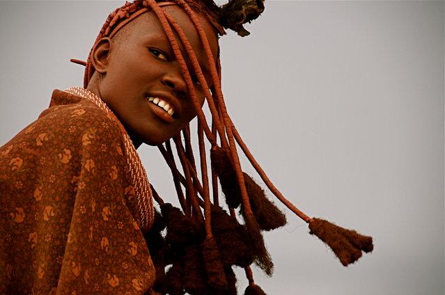 Himba Beauty Girl. Photo by Frank Janssens