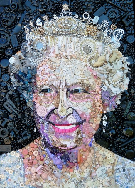 Queen Elizabeth II.  (Photo by Jane Perkins/Caters News)