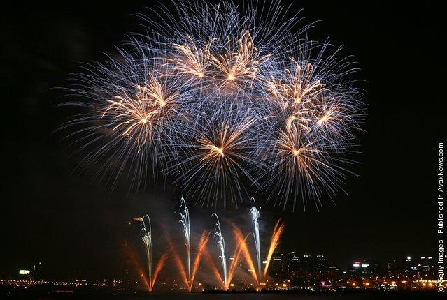 International Fireworks Festival 2007 In Seoul