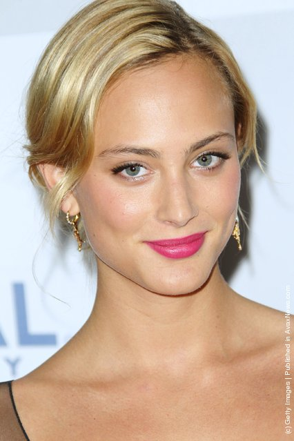 Actress Nora Arnezeder arrives at NBC Universal's 69th Annual Golden Globe Awards After Party