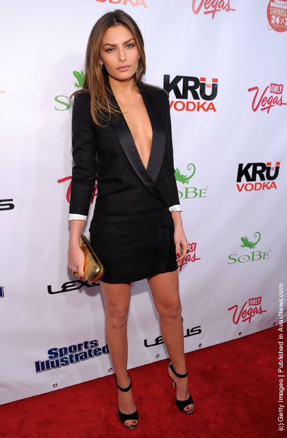 Sports Illustrated Swimsuit model Alyssa Miller attends SI Swimsuit Launch Party