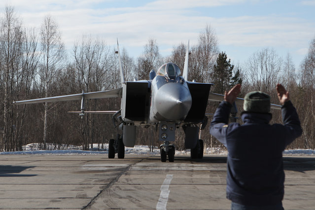 The Mikoyan MiG-31 Foxhound
