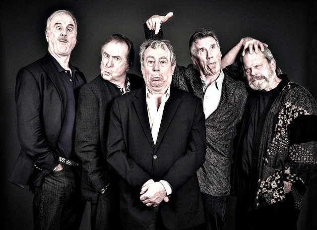 Undated handout photo issued by Python (Monty) Pictures Ltd of (left to right) John Cleese, Eric Idle, Terry Jones, Michael Palin and Terry Gilliam. (Photo by Andy Gotts/PA Wire)