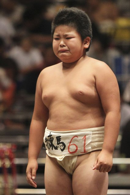 National Children's Sumo tournament in Tokyo, 2012