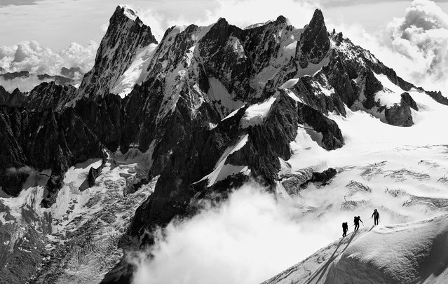 """Graian Alps"". Nature always find ways to amaze, sometimes you just need to only stop and stare. Photo location: Graian Alps, Chamonix, France. (Photo and caption by Kostas Petrakis/National Geographic Photo Contest)"
