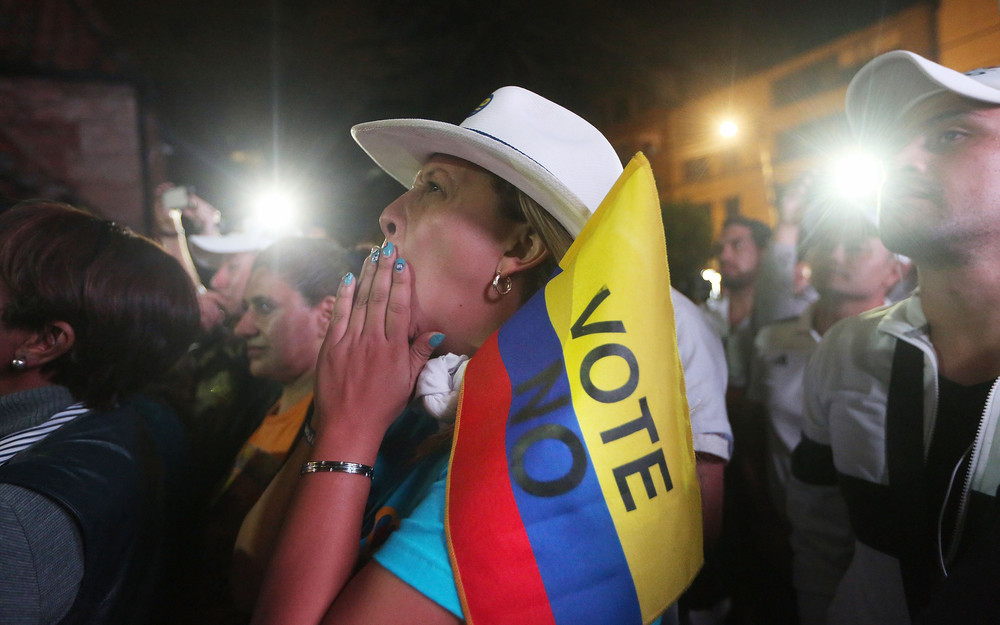 Colombia's Rebels Now in Limbo