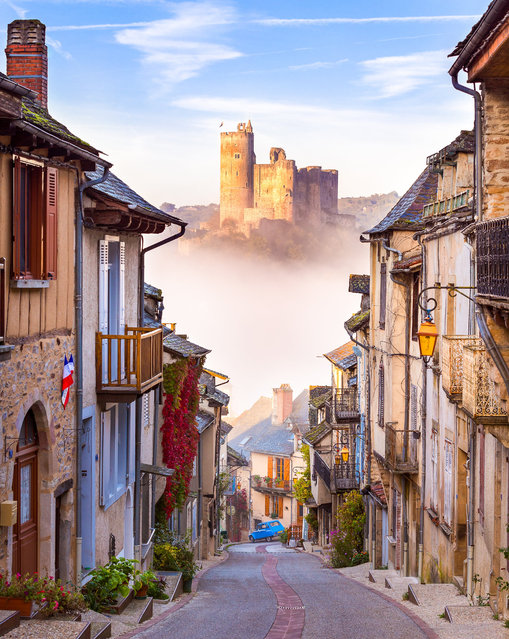 Najac, France. Travel shortlist. (Photo by Aaron Jenkin/@aaronjenkin)
