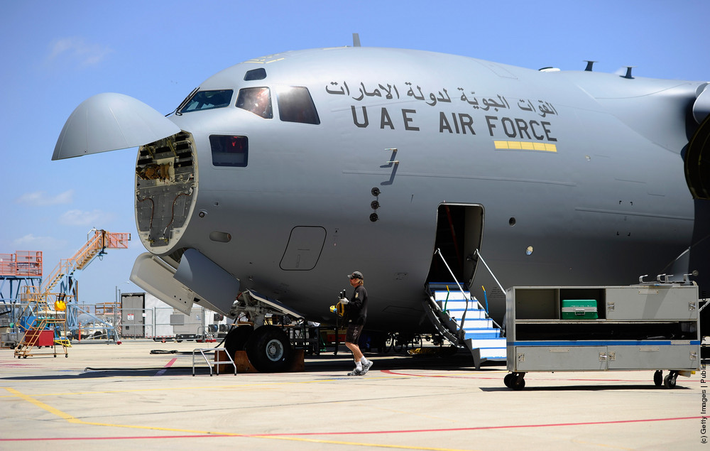 Boeing Delivers First C-17 Globemaster III To United Arab Emirates Air Force