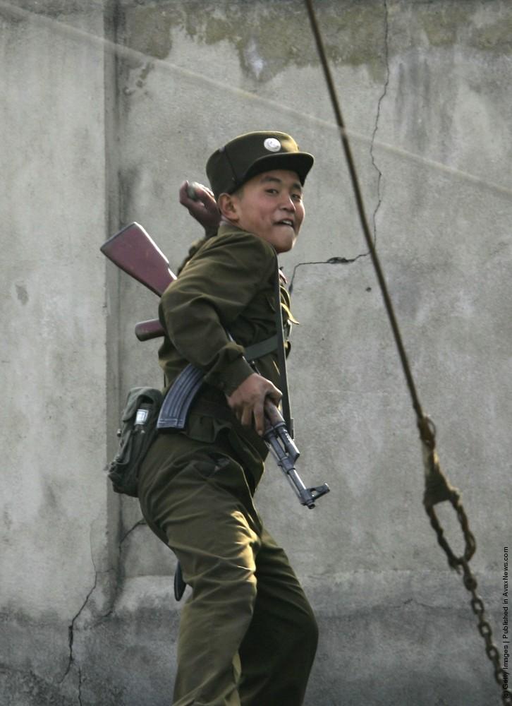 North Korean Border Guards