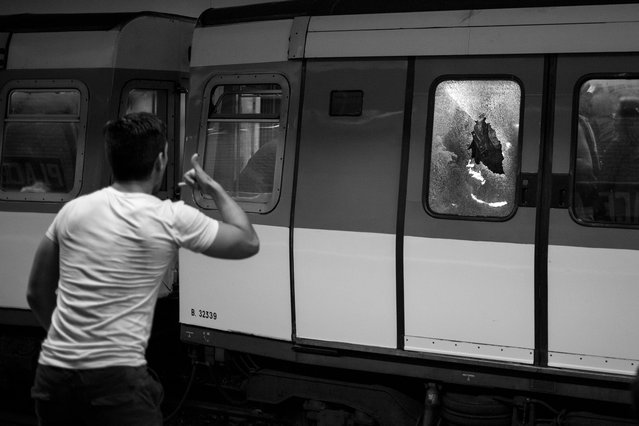 """Technoparade, Paris, 2013"". (Photo by Nicolas Portnoï)"