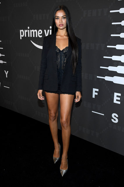 Shanina Shaik attends Savage X Fenty Show Presented By Amazon Prime Video – Arrivals at Barclays Center on September 10, 2019 in Brooklyn, New York. (Photo by Kevin Mazur/Getty Images for Savage X Fenty Show Presented by Amazon Prime Video)