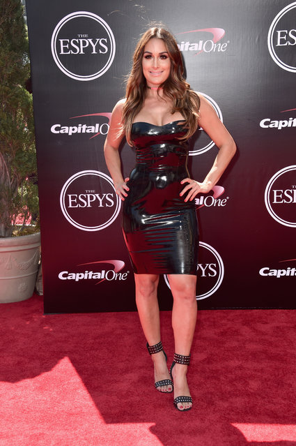 Professional wrestler Nikki Bella attends the 2016 ESPYS at Microsoft Theater on July 13, 2016 in Los Angeles, California. (Photo by Alberto E. Rodriguez/Getty Images)