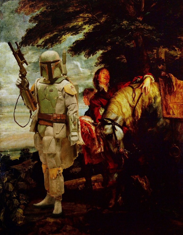 Star Wars as Classic Art