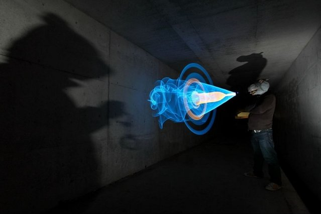 Light Painting By Trevor Williams