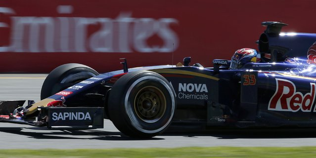 Toro Rosso Formula One driver Max Verstappen of the Netherlands drives during the first practice session of the Australian F1 Grand Prix at the Albert Park circuit in Melbourne March 13, 2015. REUTERS/Jason Reed