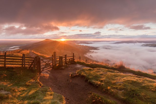 Derbyshire under cloud on August 29, 2016. (Photo by Dave Zdanowicz/Rex Features/Shutterstock)