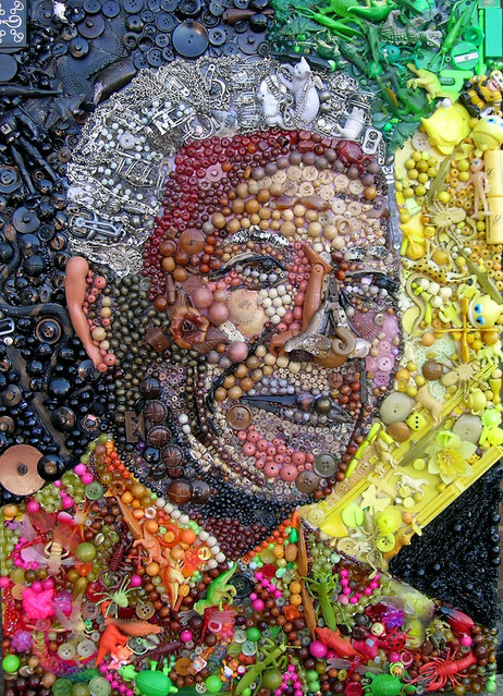 Nelson Mandela.  (Photo by Jane Perkins/Caters News)