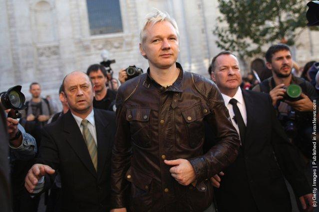 Wall Street Protests In UK, Julian Assange