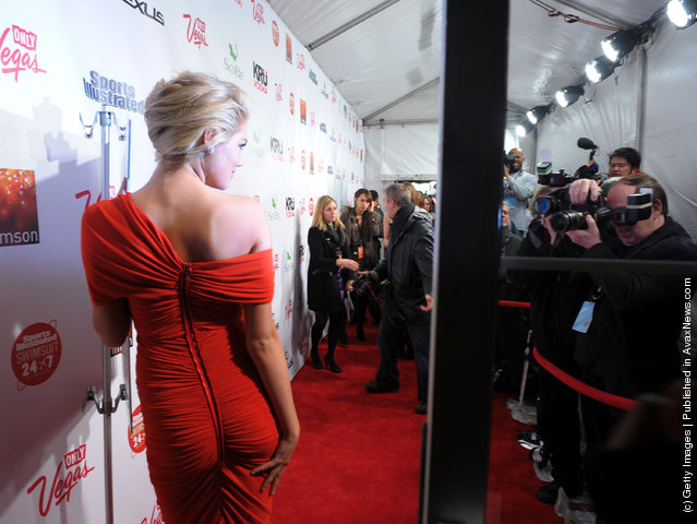 2012 Sports Illustrated Swimsuit Issue cover model Kate Upton attends SI Swimsuit Launch Party