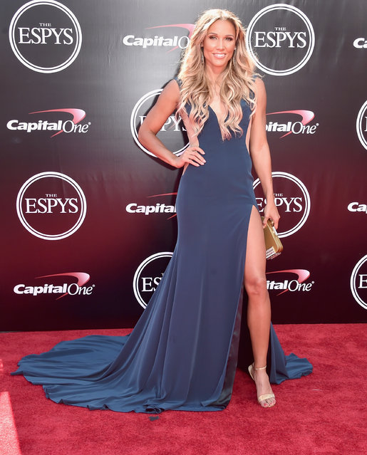 Track and field athlete Lolo Jones attends the 2016 ESPYS at Microsoft Theater on July 13, 2016 in Los Angeles, California. (Photo by Alberto E. Rodriguez/Getty Images)