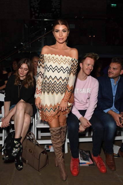 Olivia Buckland attend the April Banbury catwalk show at Devonshire Square on September 18, 2016 in London, England. (Photo by Andy Oliver/GoffPhotos.com)