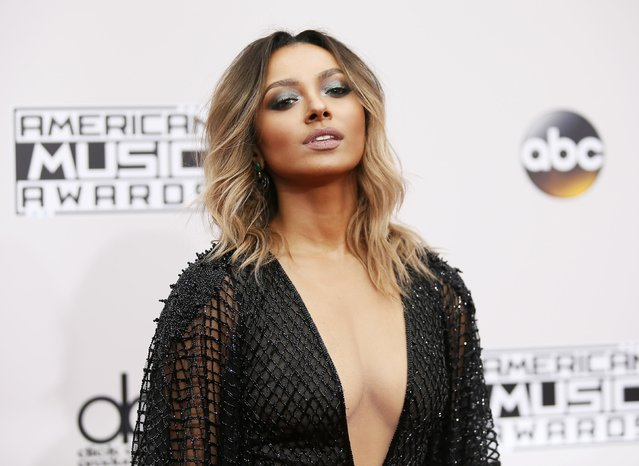 Actress Kat Graham arrives at the 2016 American Music Awards in Los Angeles, California, U.S., November 20, 2016. (Photo by Danny Moloshok/Reuters)