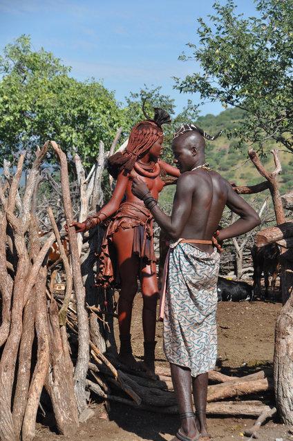 Himba Beauty Girl. Photo by Gabi