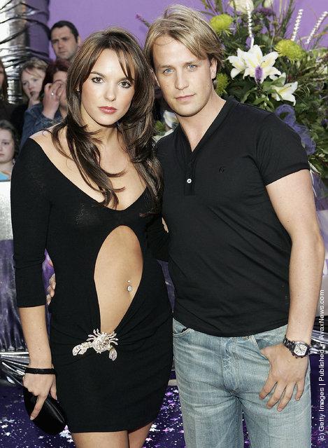 Actress Jodi Albert and boyfriend, singer Kian Egan of Westlife