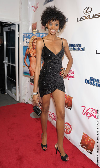 Sports Illustrated swimsuit model Adaora attends SI Swimsuit Launch Party