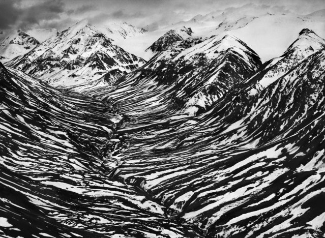 Big Horn Creek in Kluane National Park and Reserve, located in a nearly inaccessible region of Canada's Yukon Territory, near the border with Alaska. (Photo by Sebastião Salgado/Amazonas/Contact Press Images)