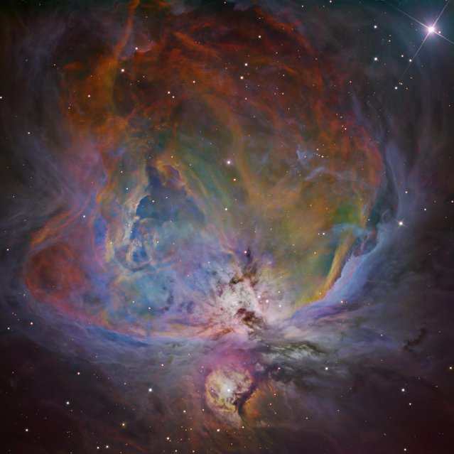 The Orion Nebula is an emission nebula about 1500 light years away in the constellation Orion. (Photo by Bernard Miller/Astronomy Photographer of the Year 2018)